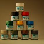 Peintures acryliques à l'eau